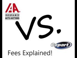 iaai buyer fees chart iaai vs copart fees explained