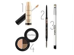 supplies you will need for eyebrow makeup