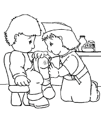Nurse Coloring Pages For Kids At Getdrawingscom Free For Personal