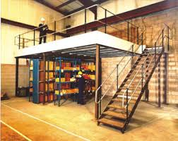 mezzanine office space. A Custom-designed Mezzanine Maximizes Overhead Space, Often Doubling Available Floor Space For Extra Storage, Production Or Office Space. E