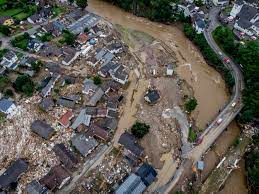 Video of flooding in Germany shows ...