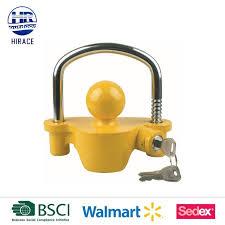 ball hitch lock. tow bar secure trailer ball hitch lock b