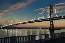 Bay Bridge Lights Project Bay Lights San Francisco Sf Sflove Bayarea Baylove