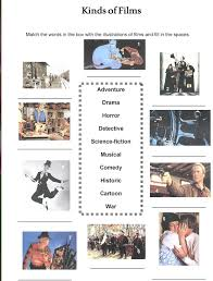 types of movies our english class types of movies