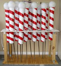 Candy Cane Outdoor Christmas Decorations 60 Festive DIY Outdoor Christmas Decorations 47