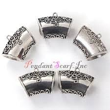 whole whole silver metal diy pendant jewellery scarf slide bails jewelry accessories ac0277a pendants silver bracelets silver chain from