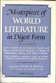 world literature essay masterpieces of world literature in digest  masterpieces of world literature in digest form series frank masterpieces of world literature in digest form