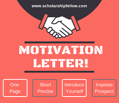 I am submitting this application for the name of scholarship to further my education in environmental studies. 9 Pro Tips Write An Impressive Motivation Letter In 2020 2021