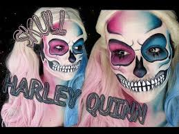 harley quinn skull makeup tutorial tutorial 2016 you