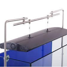 suspension kit wall mounted aquarium light hanging system side tank mount