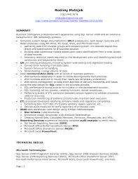 Database Developer Sample Resume Sample Resume For Database Developer Savebtsaco 2