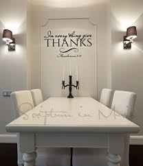 Decals For Kitchen Cabinets Bless The Food Before Us Wall Decal Beautiful Kitchen Dining