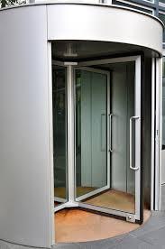 replacing weatherstripping in revolving doors