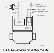 honeywell v8043 zone valve wiring diagram realestateradio us 2 port valve wiring diagram honeywell honeywell zone valve motor wiring diagram for zone valve honeywell