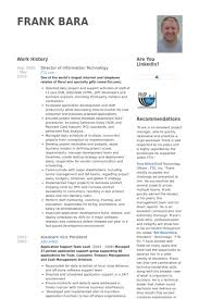 Director Of Information Technology Resume Samples Visualcv Resume
