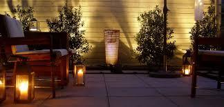 mood lighting ideas. Outdoor Lighting Ideas Courtyard Decor Candles Mood