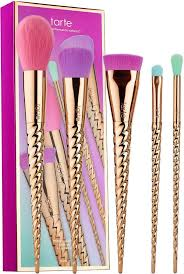 vegan makeup brushes. shop tarte\u0027s make believe in yourself: magic wands brush set at sephora. it features five, vegan, cruelty-free, fairytale-inspired makeup brushes. vegan brushes s