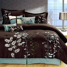 turquoise comforter set king brown comforter sets turquoise and set king teal bedding romantic throughout remodel