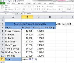 Excel For Noobs Tutorial A Step By Step Creation Of A Sales