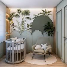jungle themed nursery by ana júlia