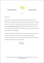 Sample Cover Letters Internship United Nations Internship Cover ...