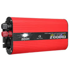 doxin® 2000w solar power inverter dc <b>12v</b>/24v to <b>ac 220v</b>/<b>110v</b> ...