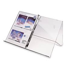 Display Binders With Stand 100Ring Binder Wall Stand Braeside Displays 2