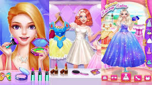 princess dress up game for s