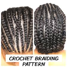 Crochet Braids Braiding Pattern Awesome How To Do A Crochet Braiding Pattern Trendy Tresses