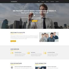 Business Website Templates Inspiration Accounting Website Responsive Website Template 24