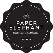 letterpress stationery just for you by paper elephant