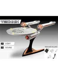 Uss Enterprise Light Up Model Star Trek Level 5 Model Kit With Sound Light Up 1 600 Uss Enterprise Ncc 1701