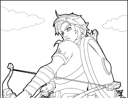 Cool coloring pages on neo coloring. Zelda Botw Coloring Pages Super Kins Author