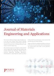 Journal Of Materials And Design Impact Factor Journal Of Materials Engineering And Applications Open