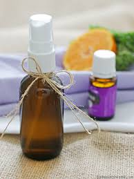 super simple tutorial showing how to make your own linen spray with essential oils i