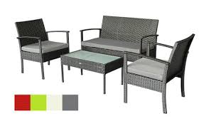 patio set small outdoor furniture set wicker porch furniture loveseat and chairs with extra cushion covers