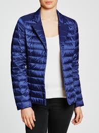 Lyst - Weekend by maxmara Chiara Quilted Jacket in Blue & Gallery. Women's Quilted Jackets ... Adamdwight.com