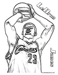 Free Online Basketball Player Coloring Pages 78 In Coloring Pages