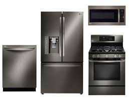 Black Kitchen Appliance Package 3 Piece Kitchen Appliance Package All About Kitchen Photo Ideas