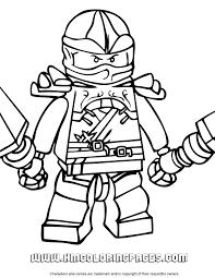 Kai Ninjago Coloring Page Free Printable Coloring Pages
