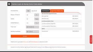 Housing Loan Stamp Duty Calculator