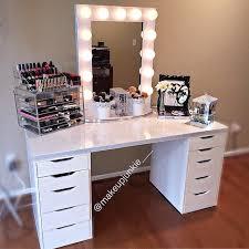 diy makeup vanity table. Delighful Diy Gallery Of Makeup Vanity Set 10 Cool Diy Table Ideas  Minimalist To Diy Makeup Vanity Table