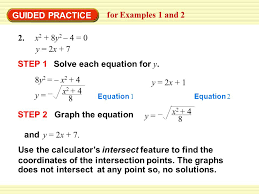 solve each equation for y