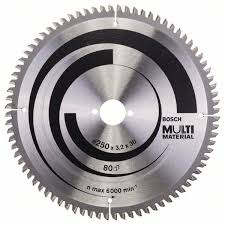Циркулярный <b>диск 250х30мм</b> Multi Material зуб 80 <b>Bosch</b> ...