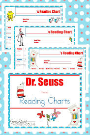 Dr Seuss Chart Dr Seuss Reading Charts Year Round Homeschooling