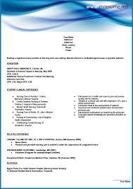 new grad rn resume sample new graduate nursing resume template