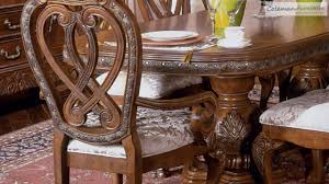Wonderful Eden Amaretto Dining Room Collection From Aico Furniture   YouTube