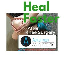 heal faster after knee surgery with