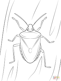 Small Picture Cute Cartoon Bug coloring page Free Printable Coloring Pages
