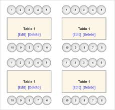 Online Wedding Seating Chart Template Veritable Office Seating Chart Template Excel Free Download